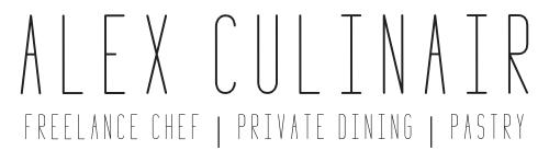 Reservering | Alex Culinair - Freelance Chef